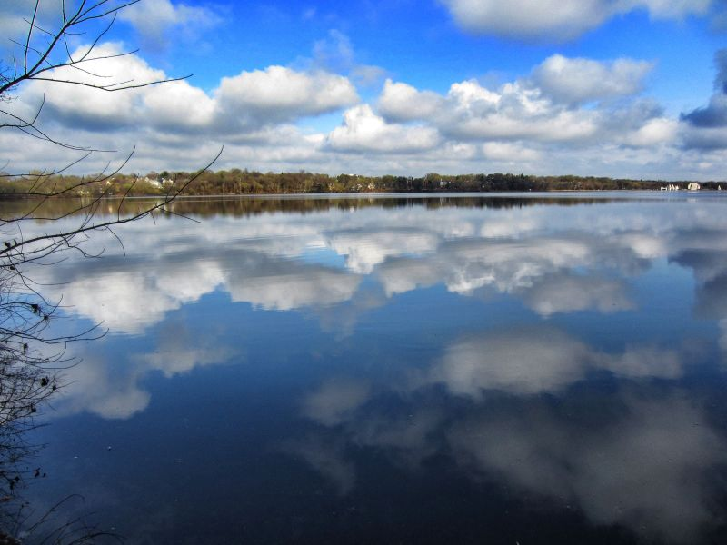 Spring on Lake Harriet