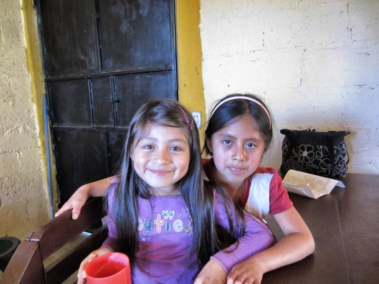 Girls after school program in Xela, Guatemala