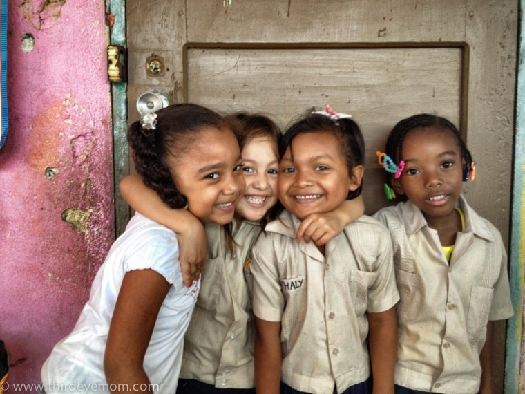 The girls of Honduras.
