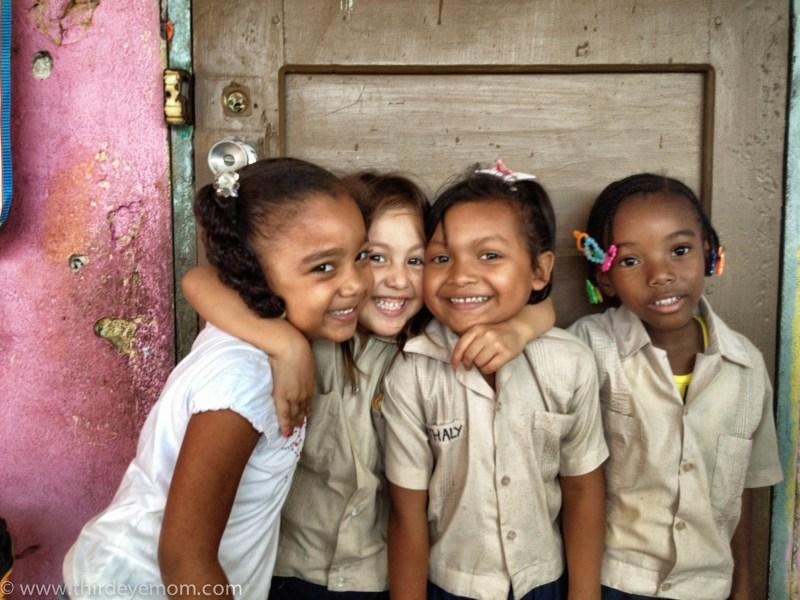 The girls of Honduras.