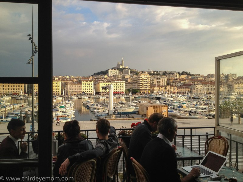 Bar with a view, Marseille