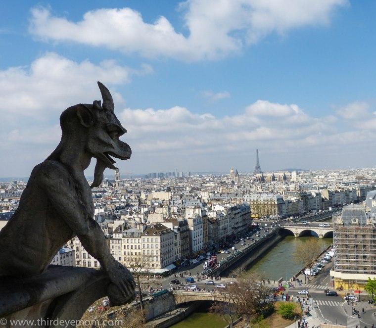 Notre Dame Gargoyles Paris, France