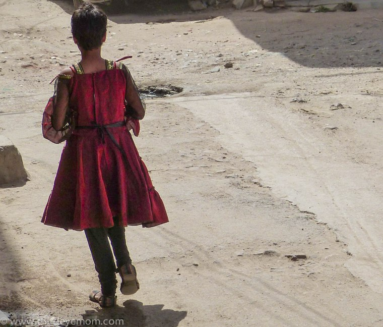 Living in the slums of India can be a dangerous place for a young girl.