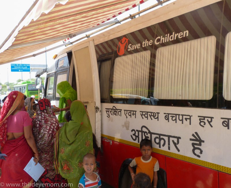 Save the Children Mobile Health Units