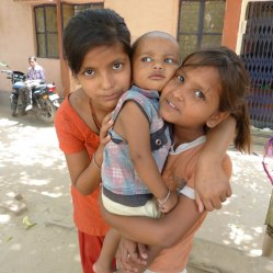 Children at the Indira Kalyan Camp