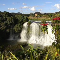 Waterfalls are abundant in Madagascar. Image Source: Wikipedia Free Commons
