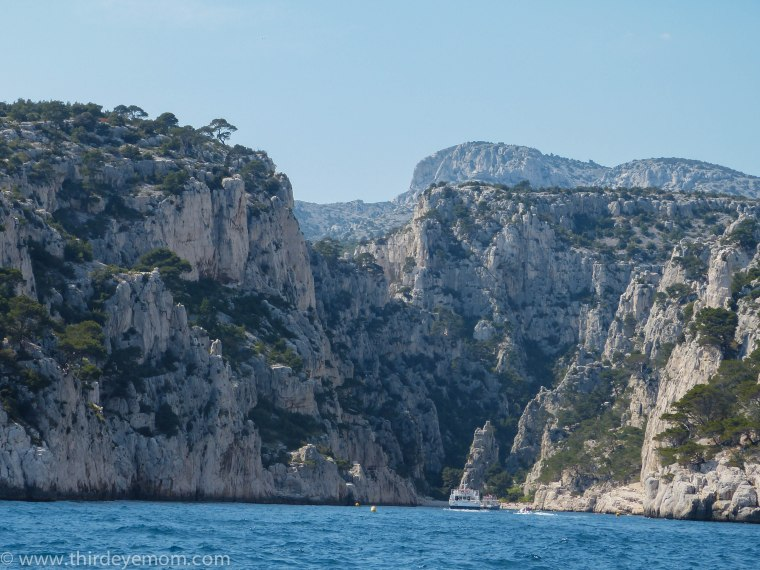 The majestic, rugged calanques