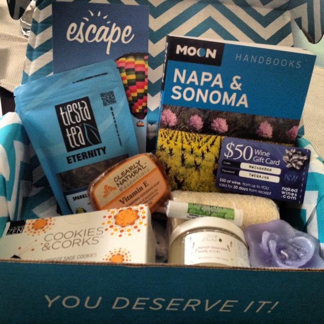 Escape Monthly Napa Box