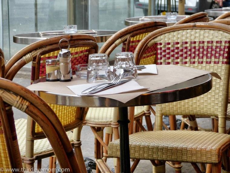 Paris France Cafe life