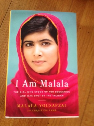 """Cover of Malala's new book """"I Am Malala"""" which was released this week."""
