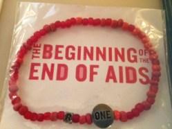ONE/RED Bracelet