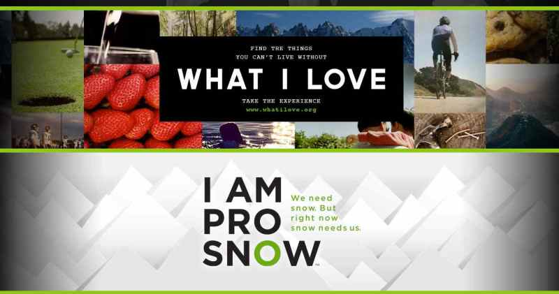"The Climate Reality Project asks us ""What I love""."