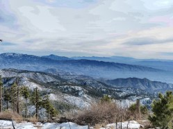 Top of Mount Lemmon Arizona