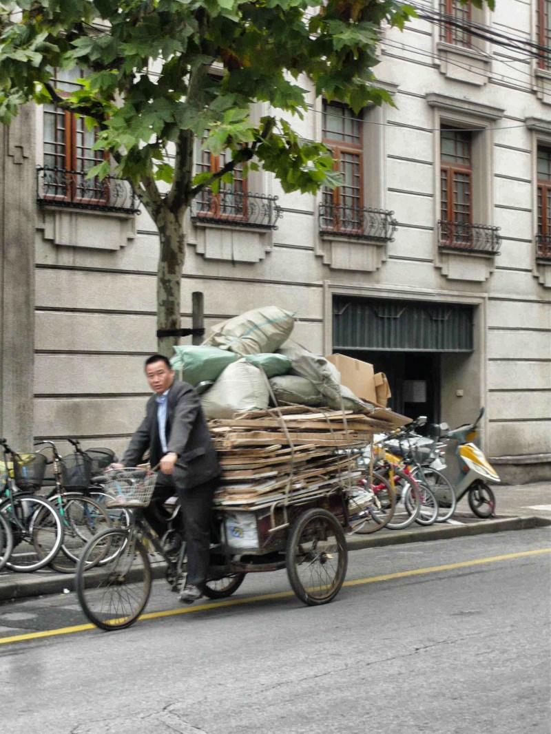 Suit on Bike China