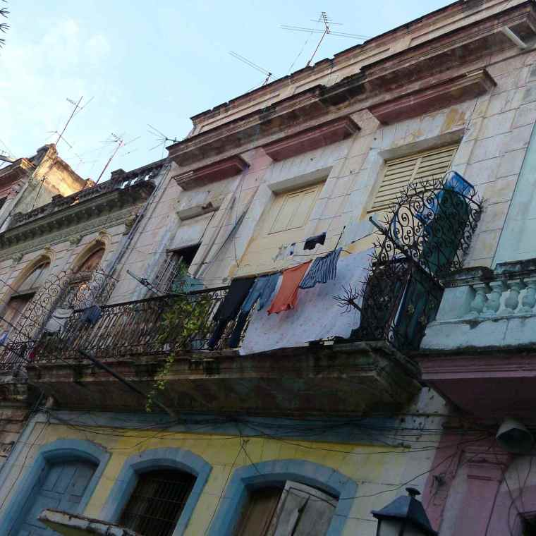 Old Havana buildings