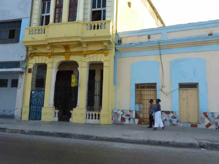 Buildings along the Malecon