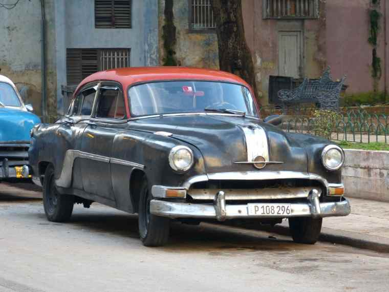 Old Vintage cars in Havana