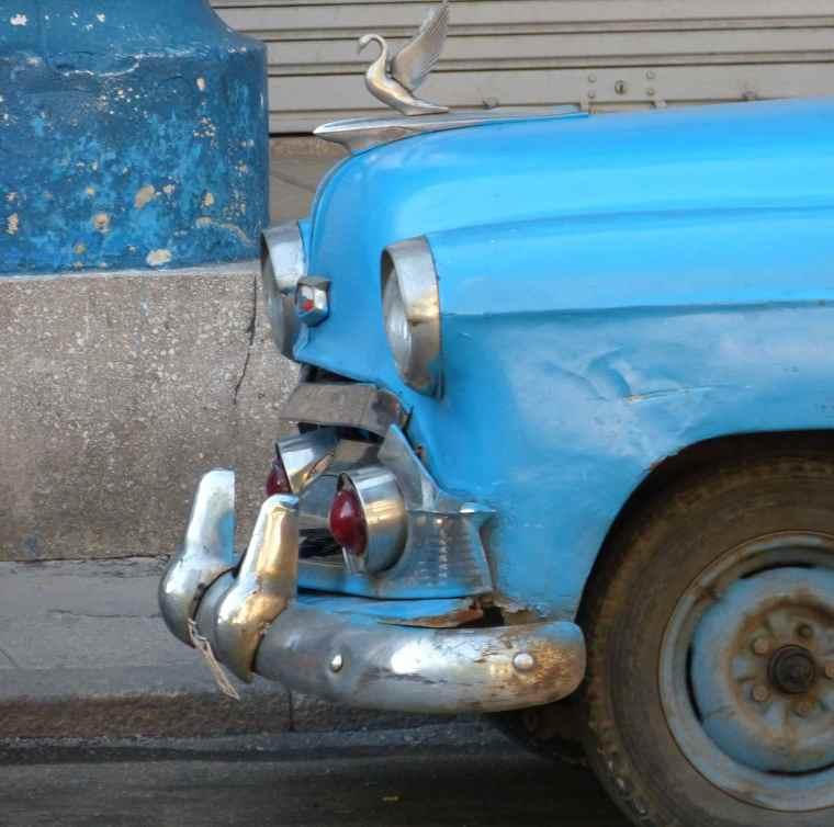 Vintage cars in Havana