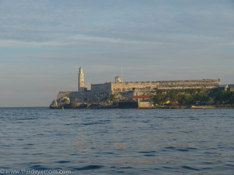 Castillo de los Tres Santos Reyes Magnos del Morro with the lighthouse.