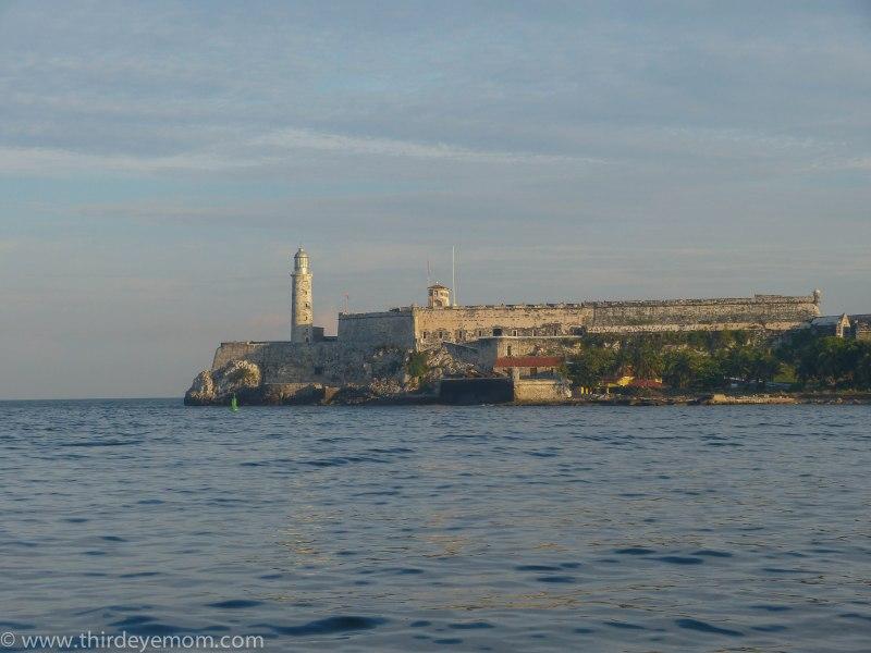 Castillo de los Tres Santos Reyes Magnos del Morro with the lighthouse.