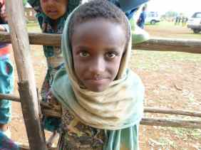 Children of Mosebo Village, Ethiopia
