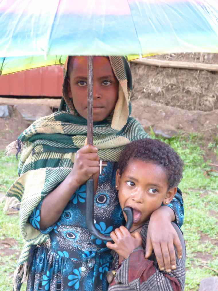Children of Mosebo Village Ethiopia