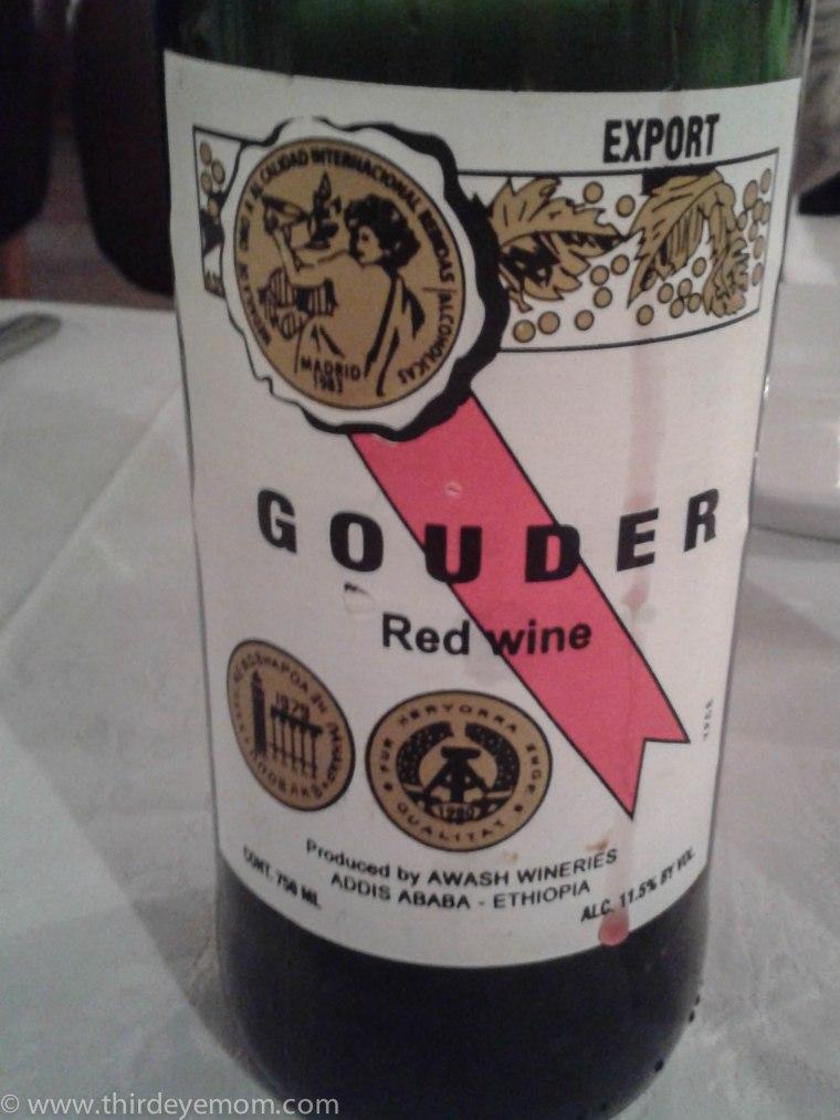 Ethiopian wine