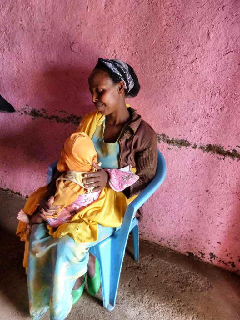 Ethiopian mother