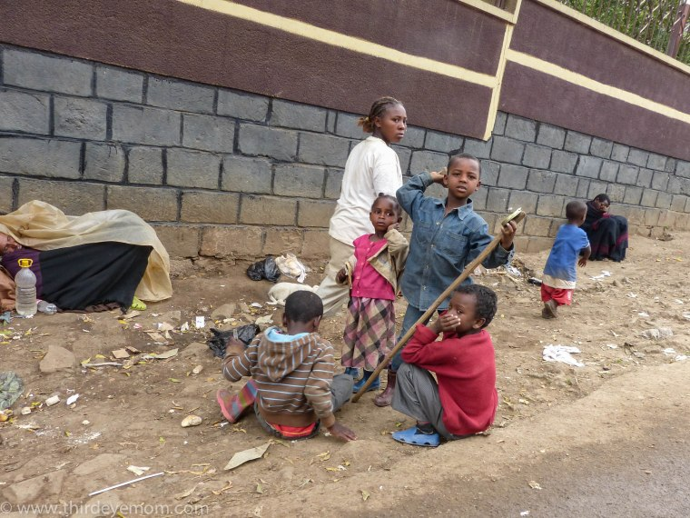 Addis Ababa poverty