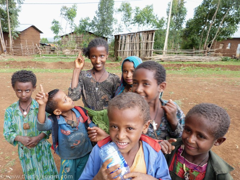 Rural Ethiopian Children