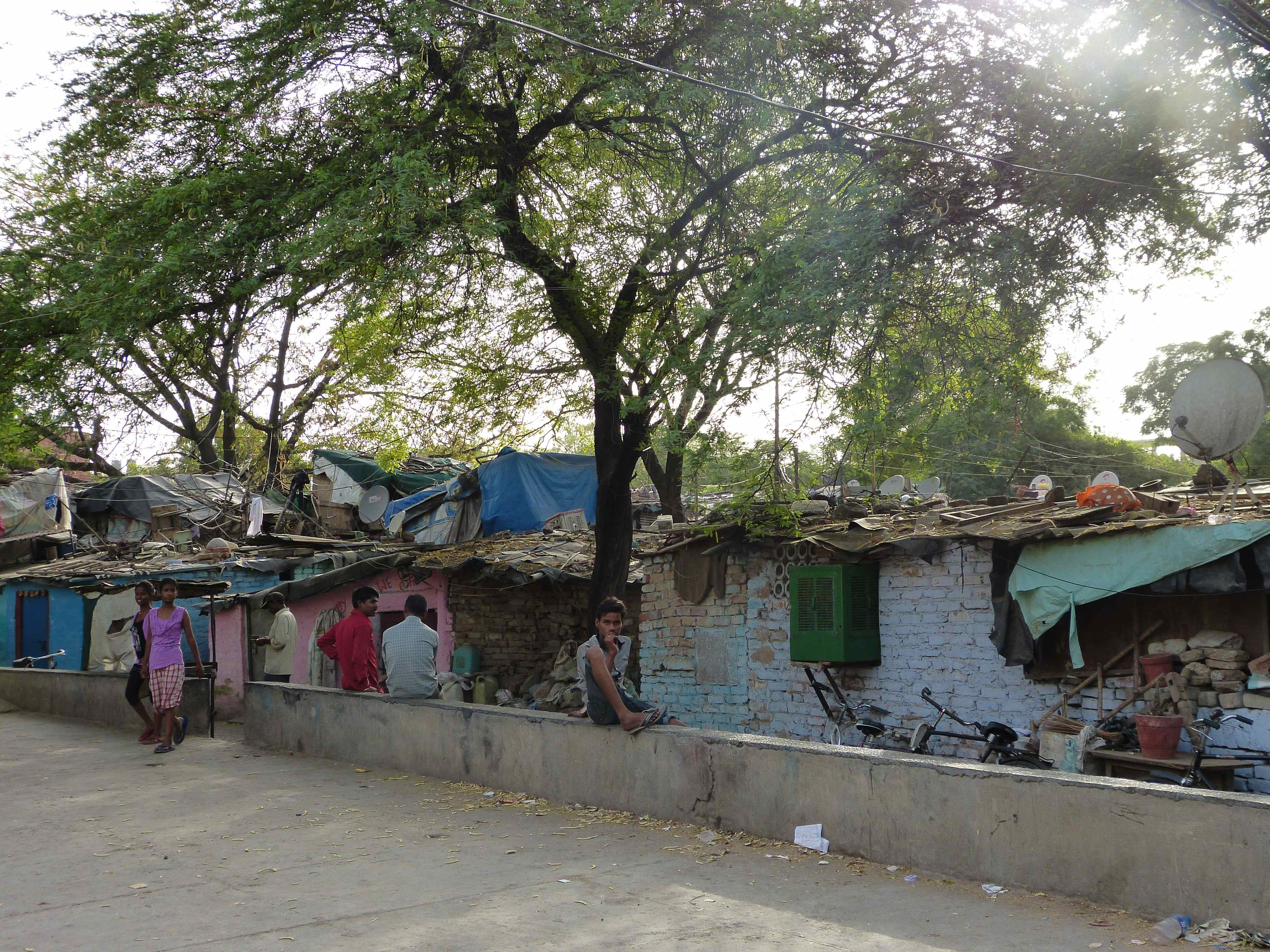 Life in the heart of an Indian Slum