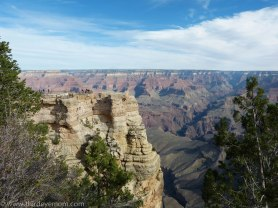 the Grand Canyon Arizona