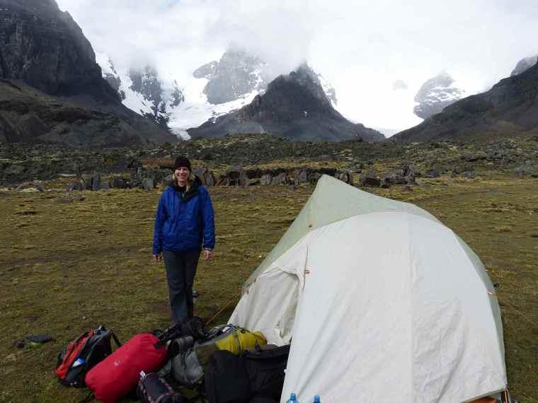 Condoriri trailhead Boliviaa