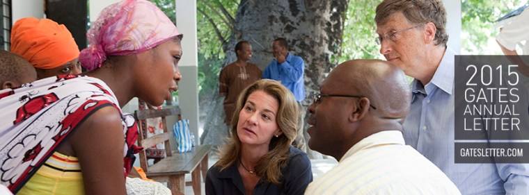 Photo credit: Bill and Melinda Gates Foundation