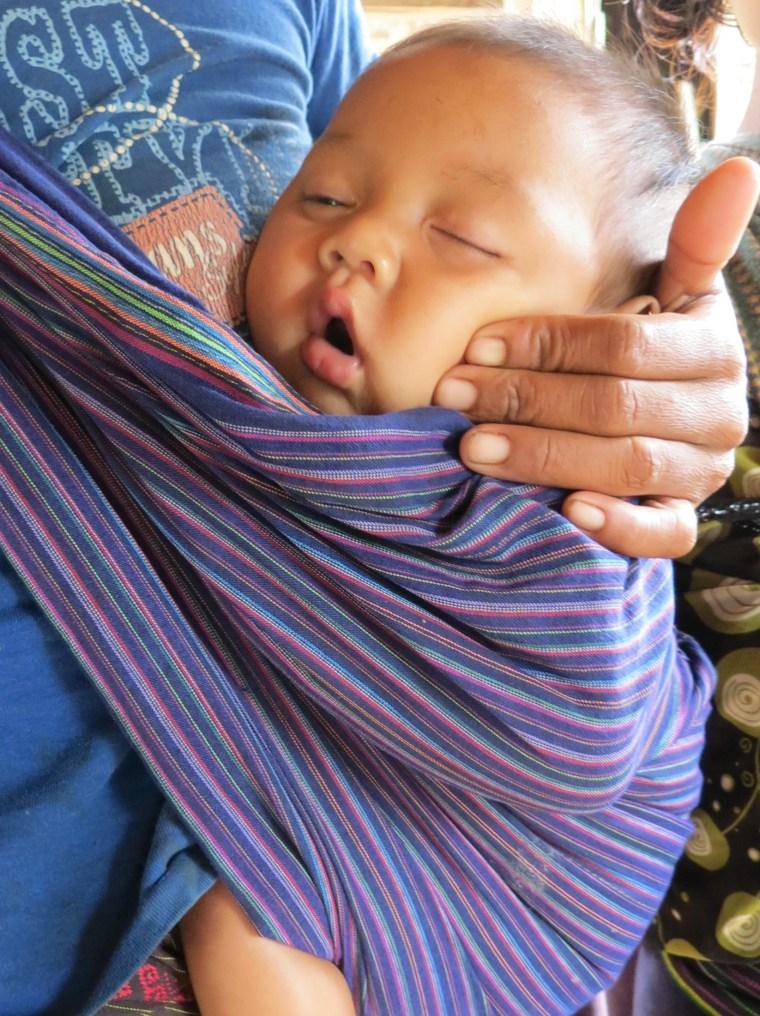 Every life matters! An infant in Laos.  Photo credit: Kristyn Zalota