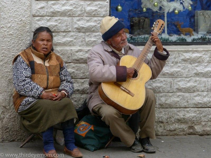 Street Music in La Paz, Bolivia