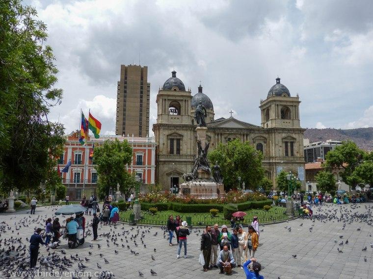 Plaza Murillo La Paz Bolivi