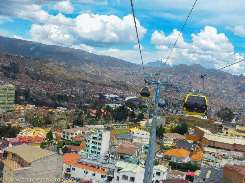 Teleférico de La Paz Bolivia