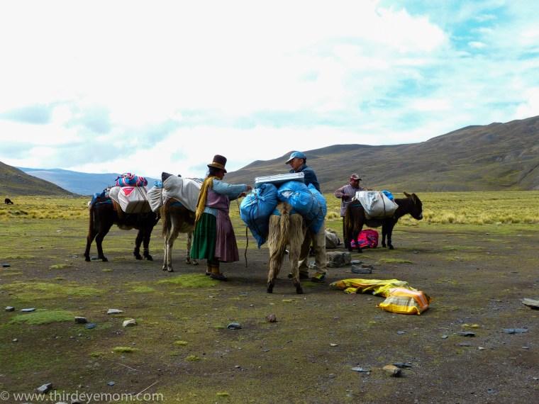 Condoriri Valley Bolivia
