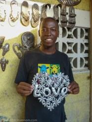 Rony Jacques studio Croix-des-Boquet Haiti