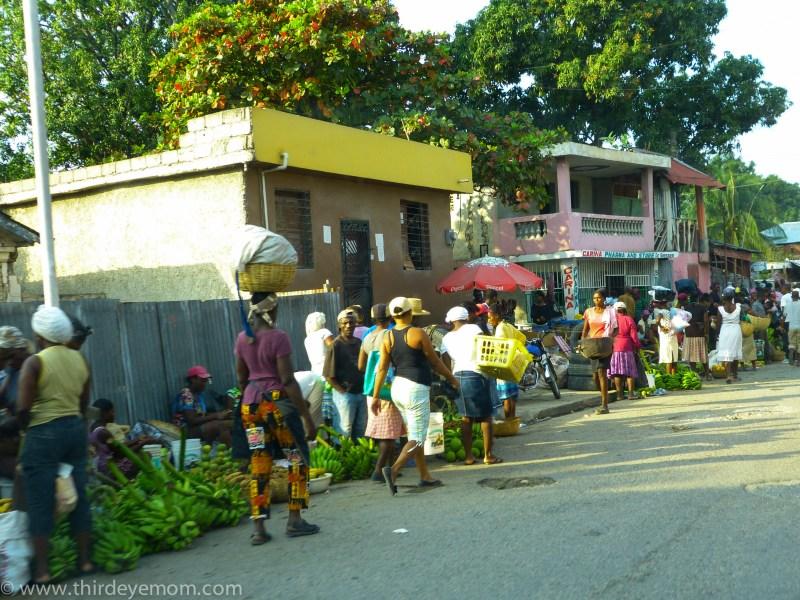 Haiti market