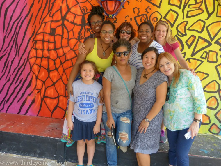 Our multi-cultural team to Haiti. How I wish these lovely ladies all lived here!