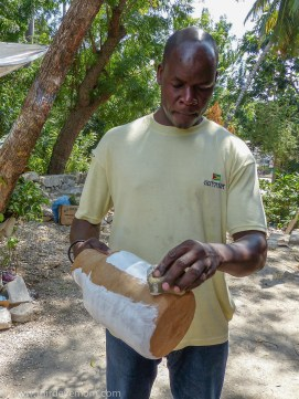 Harry Sylvaince- Papier Mache Artisan Jacmel Haiti