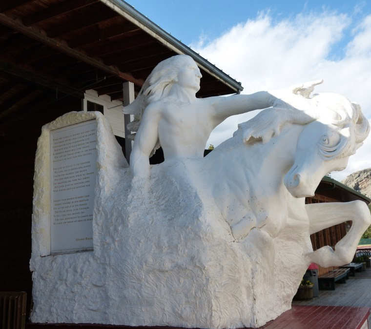 The Crazy Horse Memorial South Dakota