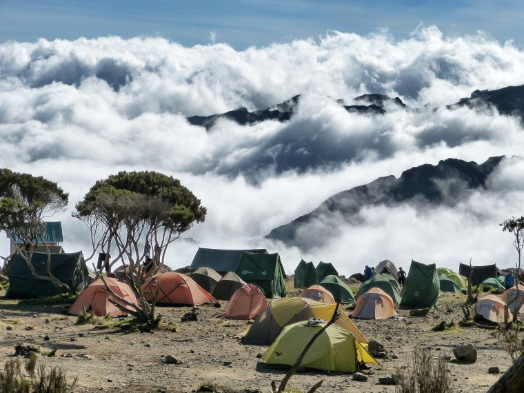 Base Camp 2, Machete Route, Mount Kilimanjaro Tanzania