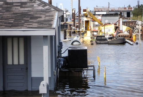 2005 Hurricane Katrina, flooding. Photo Credit: Save the Children