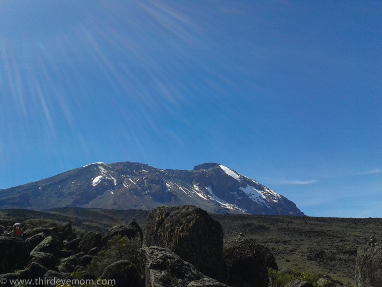 Kilimanjaro hike to Barranco Camp Machame Route