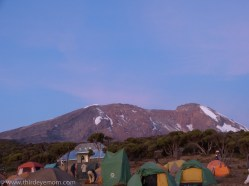 Shira Camp, Machame Route Kilimanajaro