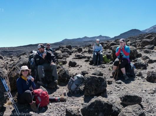 Hike to Lava Tower, Machame Route, Kilimanjaro