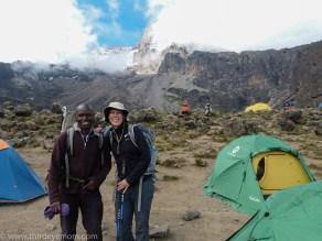 Barranco Camp Machame Route Kilimanjaro
